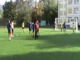 Футбол школы 86-1136, 1 тайм, сезон 2012-2013 учебный год