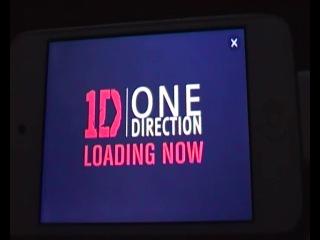 Эксклюзивное видео One Direction из приложения на Андроид и IOS